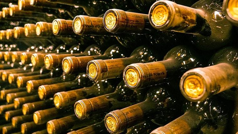 Collection de vins à investir